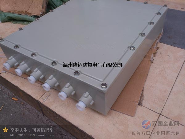 bjx51钢板焊接防爆接线箱