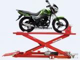 地藏式摩托车维修升降平台,电动车修理举升机厂家