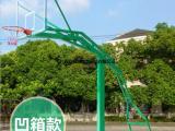 广西合浦移动式篮球架 户外凹箱篮球架价格