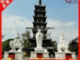 天然石材石雕佛像 解救苦难石雕地藏王菩萨 寺庙佛像雕像