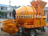 烟台大都重工混凝土泵JBS40搅拌拖泵混凝土输送泵柴油版拖泵