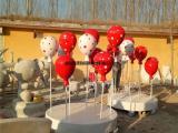 玻璃钢气球雕塑,商场美陈装饰气球摆件