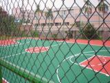 安平铄凯厂家生产销售体育场护栏网,勾花网围栏网,运动场围网