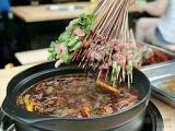 广州荣盛餐饮钢管厂小郡肝串串冷锅串串香设备