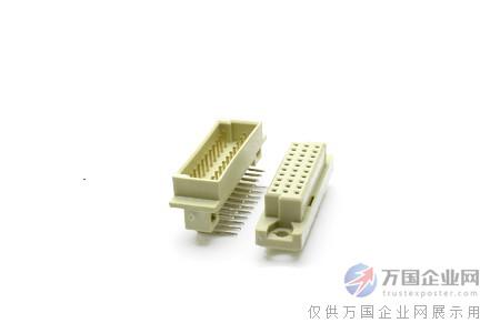连接件 03  电路板连接器 03  din41612四排64针中间空心公母座