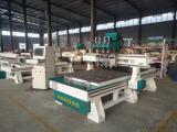 快特木工加工中心生产线设备数控开料机木工下料机