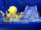 新款商场百万海洋球池儿童城堡滑梯大型游乐设备