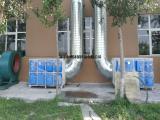 食品厂车间废气光氧催化净化器除异味环保箱