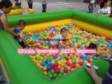大型充气海洋球池广场彩灯海洋球池幼儿园球池