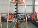 三角架挖坑机 架子式地钻 四冲程大马力挖坑机厂家现货