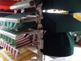 武汉户外雨棚遮阳棚电动伸缩遮阳雨篷手摇阳台铝合金店面折叠雨蓬
