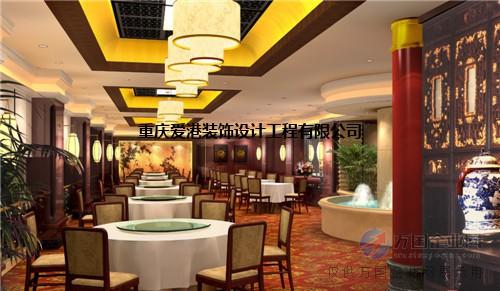 重庆酒楼装潢设计,大饭店装修设计,重庆餐饮门面设计