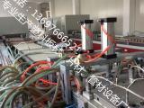 竹木速装墙板设备 pvc石塑墙板生产线