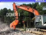粉碎钳 挖掘机粉碎钢筋水泥块的新式设备
