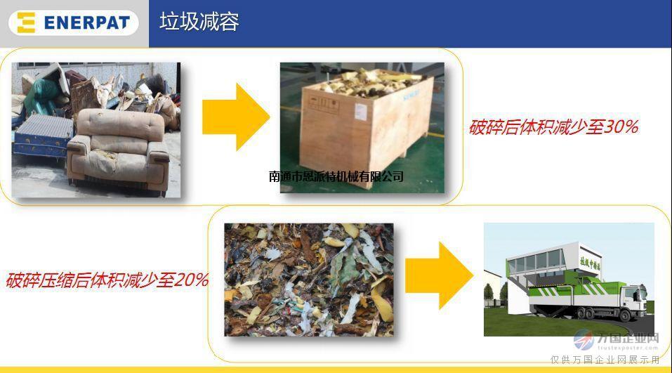 双轴高效率大件垃圾破碎机 质量保证