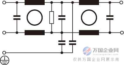 优质d封装双节交流电源滤波器