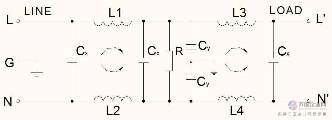 电路类型   外形尺寸(封装)   安装提示: 1 安装位置:滤波器安装的佳位置应在电源线入口处,以缩短输入线在机箱内的长度,减少辐射干扰的空间耦合; 2 接地:滤波器的接地必须良好。对于金属外壳的滤波器,外壳必须与设备机箱进行低阻抗连接,即外壳必须与机箱面板面导电接触,并接好地线; 3滤波器输入端和输出端的布线:滤波器的输入线、输出线必须拉开距离,切忌并行走线,以避免输入线缆和输出线缆间发生耦合而旁路了滤波器,造成滤波器失效。  参考标准 [1] GB/T1528794 抑制射频干扰整件滤波器