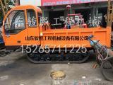 水稻田履带运输车 果园履带式拖拉机