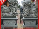 石材雕刻惠安石雕狮子 青石南师石雕招财献瑞狮 各种规格订做