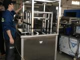 佛山抛动式铝管超声波清洗机 非标定制超声波除油清洗机