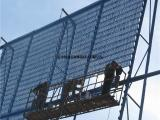 现货厂家批发三峰防风抑尘网,金属防风墙镀锌板防风抑尘网