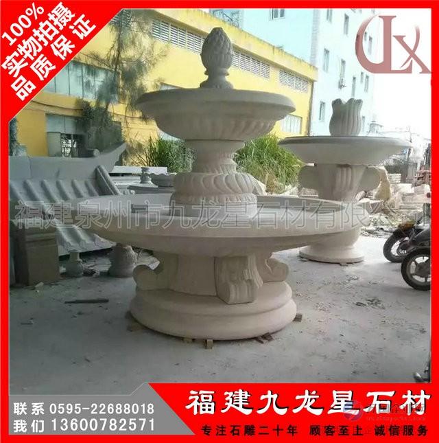 石雕喷泉2