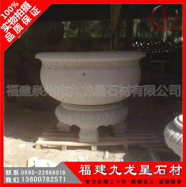 石雕花盆6
