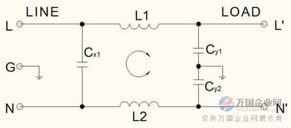 优质c封装交流电源滤波器