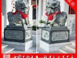石雕麒麟经销商 门前招财镇宅石雕麒麟一对 石头麒麟价格