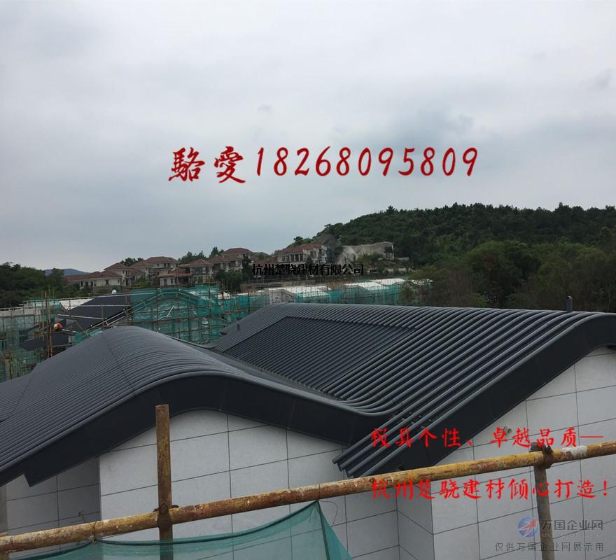 HV-490暗扣板 360度咬合铝镁锰屋面板 便宜铝镁锰板