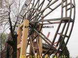 防腐木水车生产厂家仿古水车厂家电驱动水车价格