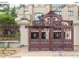城口庭院门|万斯泰科技|铝艺庭院门价格