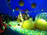 鲸鱼岛儿童主题乐园出租充气大型蓝鲸鱼气模低价租售
