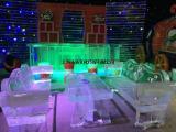 冰雕展工程制作出租冰雪节立体造型设计雕刻租赁价格