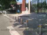 学校门口防撞柱,自动升降柱,电动遥控挡车柱