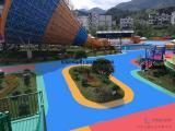 承接儿童游艺园地坪漆厂家报价 海瑞水上乐园耐水泡防滑漆