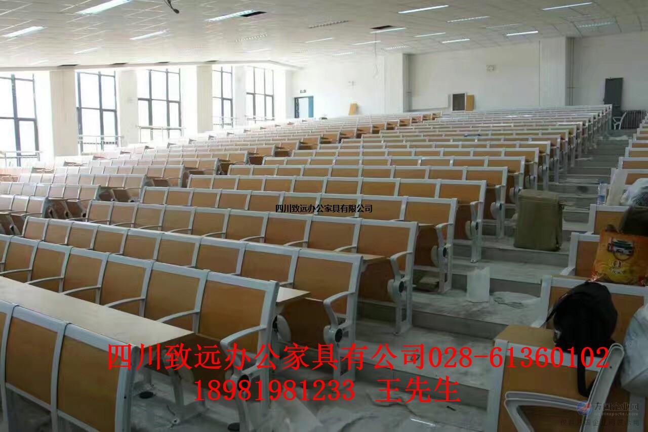 阶梯课桌椅生产厂家供应成都眉山乐山等地区的学校阶梯课桌椅