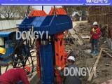 工法H型钢怎样拔出 用液压拔桩机