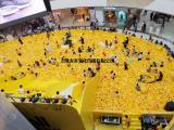海洋球游玩项目出租七彩波波球生产儿童乐园玩具球租赁