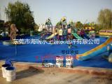 水上游乐园刷漆工程 游乐园彩色地坪漆施工海瑞防滑环保彩色涂料