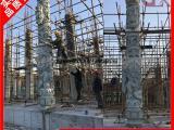 厂家直销石雕龙柱 花岗岩景观龙柱 福州龙柱安装