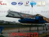 全自动水葫芦打捞机械 水生植物输送运输船 河面割草设备