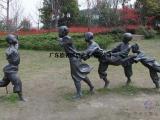 广东原著雕塑厂家供应童趣老鹰抓小鸡雕塑 公园景观雕塑摆件