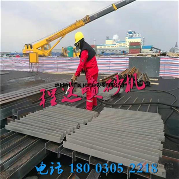 钢结构表面除锈去油漆机械_表面清理设备_程达机械品牌