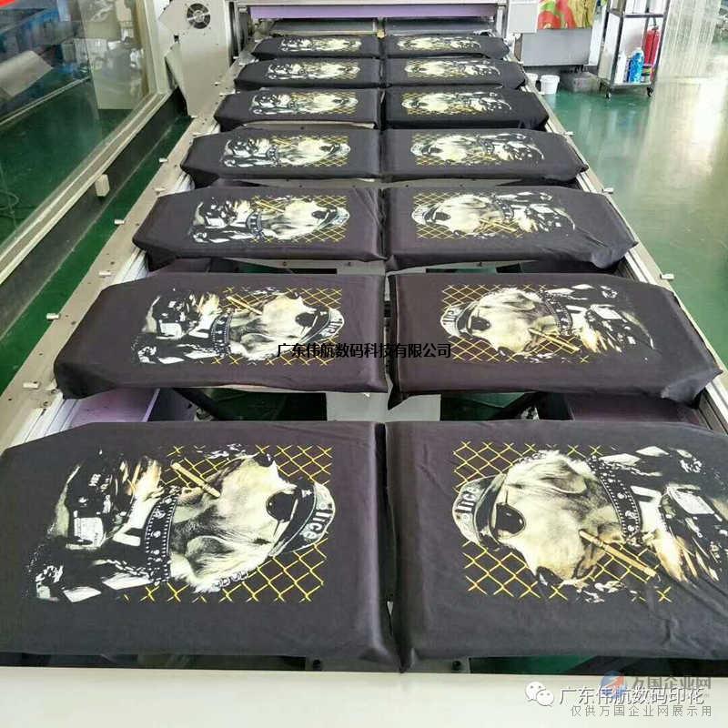 伟航数码衣服印花设备wh-f1600服装数码打印机