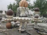 汉白玉风水球石雕、 财源滚滚石球