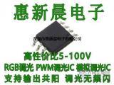 PWM调光无频闪降压恒压芯片H5119