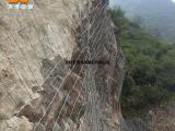 热销山体主动钢丝绳边柔性边坡防护网被动高速边坡防护网