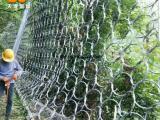 厂家销售安装sns柔性拦石被动防护网 滑坡拦石被动网