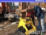 挖掘机平板夯实机 震动压实机